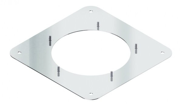 Quadratische Schraubplatte RSD-QP 250 | Kutzner + Weber