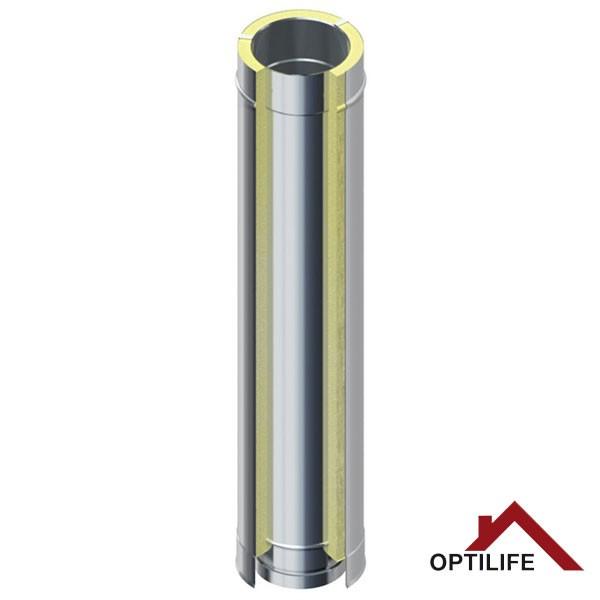 Rohrelement 1000 mm   Raab BASIC – DW 25 Optilife