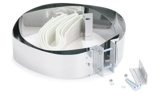 Anschlussmanschetten (Paar) Airjekt 1® | Kutzner + Weber