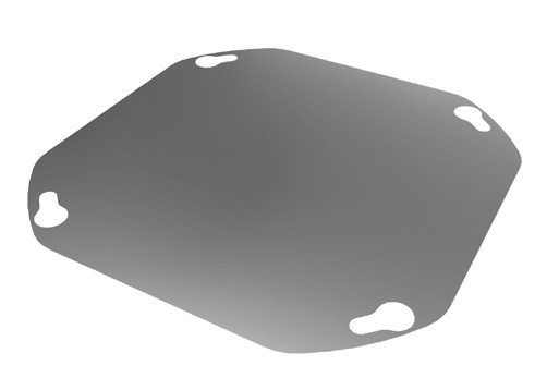 Flanschdeckel für Airjekt ® 1 Outdoor | Kutzner + Weber