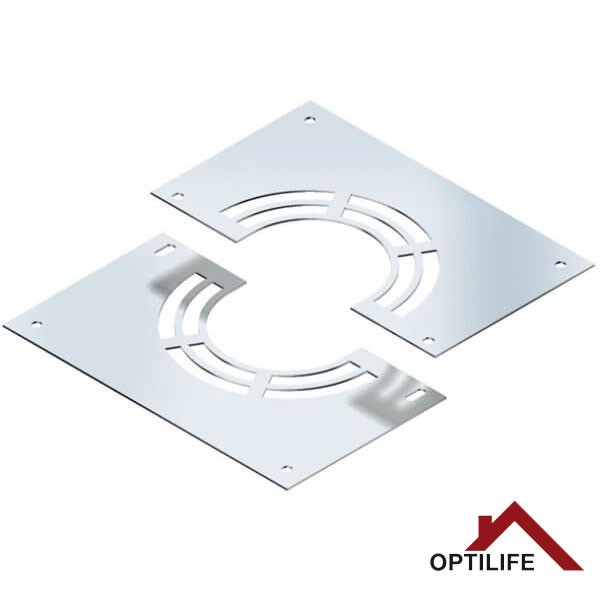 Blendblech mit Hinterlüftung | Raab BASIC – DW 25 Optilife