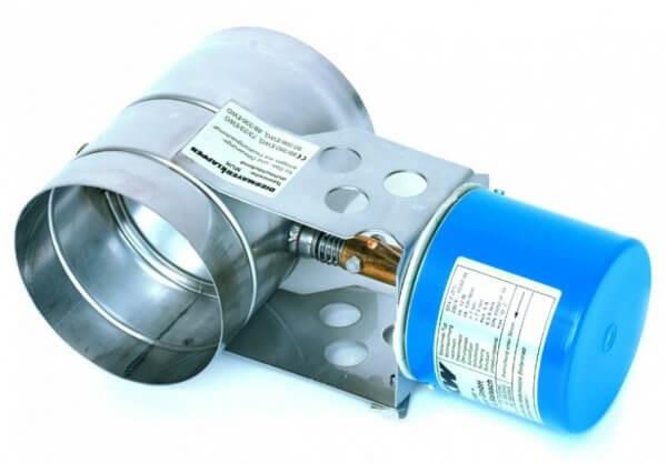 Motorische Abgasklappe MUK 80 bis 300 | Kutzner + Weber
