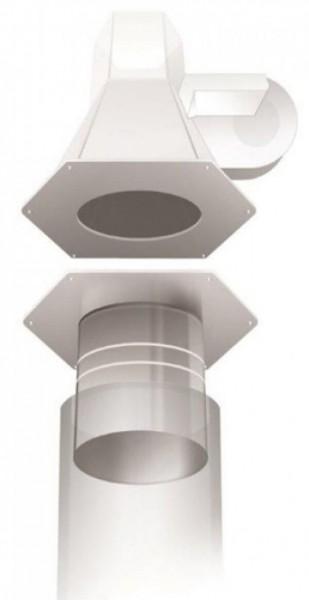 Rauchsauger-Adapter RSG 180/130 bis 180/200 | Kutzner + Weber