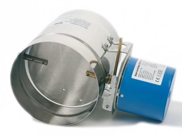 Motorische Abgasklappe MOK 350 bis 400 | Kutzner + Weber